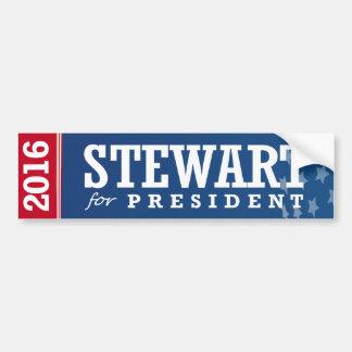 STEWART FOR PRESIDENT 2016 CAR BUMPER STICKER