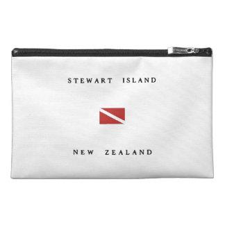 Stewart Island New Zealand Scuba Dive Flag Travel Accessory Bag