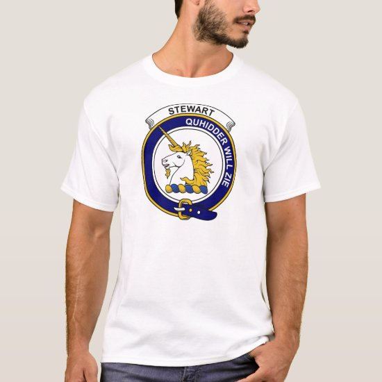 Stewart (of Appin) Clan Badge T-Shirt