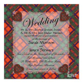 Stewart of Appin Scottish clan tartan - Plaid Card