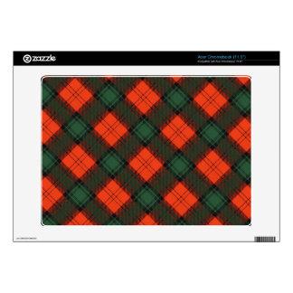 Stewart of Atholl Scottish Kilt Tartan Acer Chromebook Skins