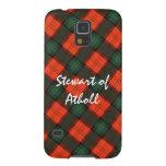 """Stewart of Atholl"" Scottish Kilt Tartan Galaxy S5 Cover"