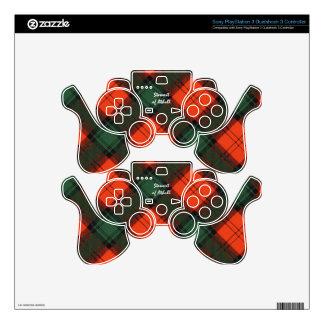 Stewart of Atholl Scottish Kilt Tartan PS3 Controller Skins