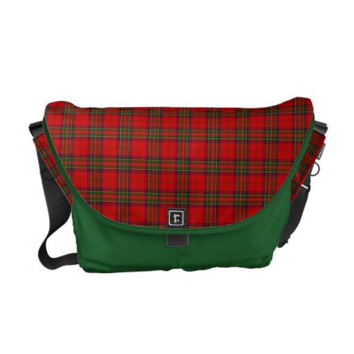 Stewart Plaid Commuter Bags