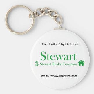 Stewart Realty Keychain