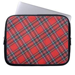Stewart Royal Modern Tartan Laptop Sleeve