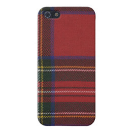Stewart Royal Modern Tartan Plaid iPhone 4 Case