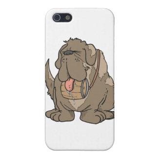 Stewart the Saint Bernard Case For iPhone SE/5/5s