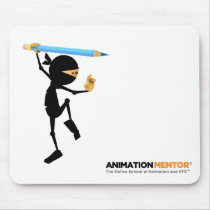 Stewie Ninja Mouse Pad