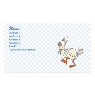 Stewie Stork Business Card Templates