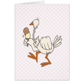 Stewie Stork Card