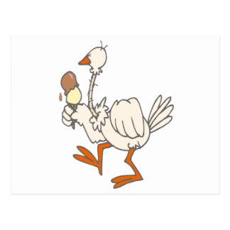 Stewie Stork Postcard