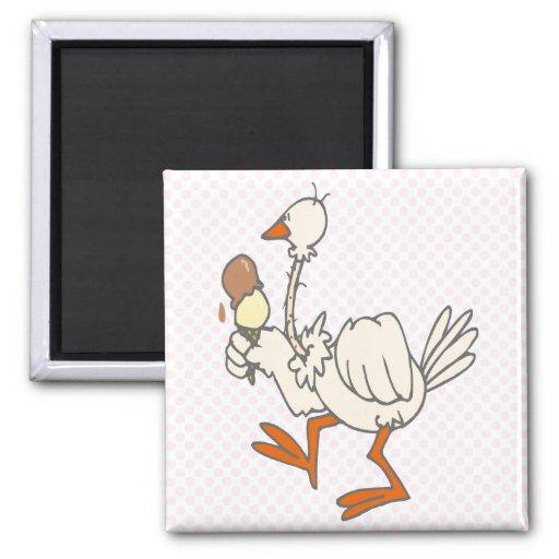 Stewie Stork Refrigerator Magnet
