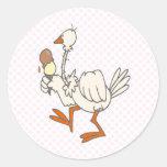 Stewie Stork Stickers