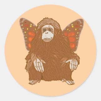 Stewie the Fairymal Classic Round Sticker