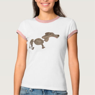 Stewie The Poodle, Watercolored T-Shirt