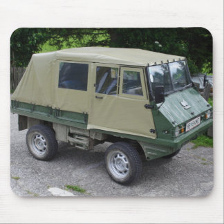 Steyr Puch Haflinger Mouse Pad
