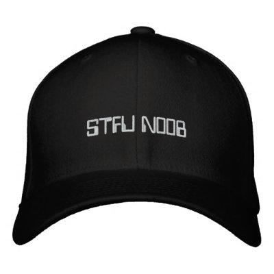 STFU N00B EMBROIDERED HATS