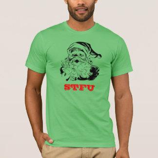 STFU Santa Christmas T-Shirt