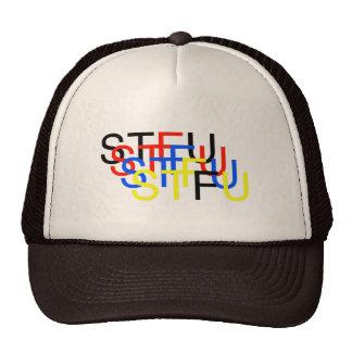 STFU_trucker Trucker Hat