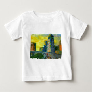 Sthreveport, Louisiana: An Abstract of Downtown Baby T-Shirt