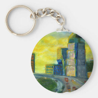 Sthreveport, Louisiana: An Abstract of Downtown Keychain