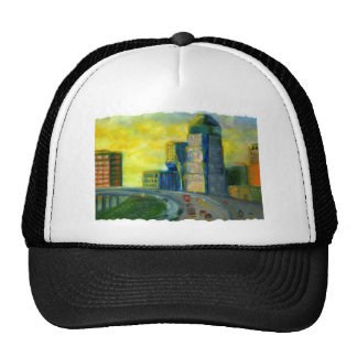 Sthreveport, Louisiana: An Abstract of Downtown Trucker Hat