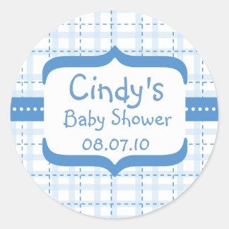 sti_bs005, Cindy's, Baby Shower, 08.07.10 Classic Round Sticker