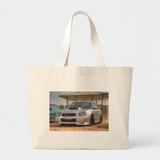 STi de Subaru Impreza - Equipo del cuerpo (plata) Bolsas De Mano
