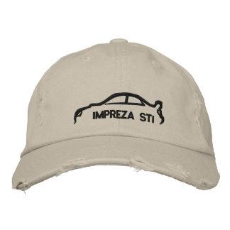 STI de Subaru Impreza Gorras De Beisbol Bordadas