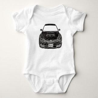 STi de Subaru WRX Body Para Bebé