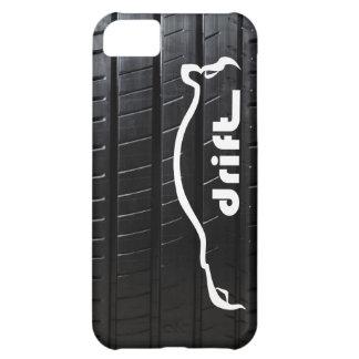 "STI ""drift"" with tire tread iPhone 5C Cover"