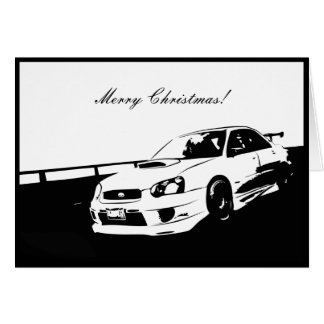 STI Drifting Christmas Cards