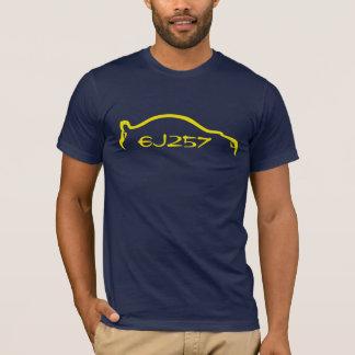 STI EJ257 Yellow Silhouette T-Shirt