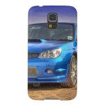 """STi """"Hawkeye"""" de Subaru Impreza en azul Carcasa De Galaxy S5"""