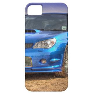 "STi ""Hawkeye"" de Subaru Impreza en azul iPhone 5 Fundas"