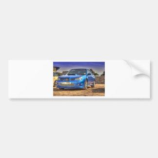 "STi ""Hawkeye"" de Subaru Impreza en azul Pegatina Para Auto"