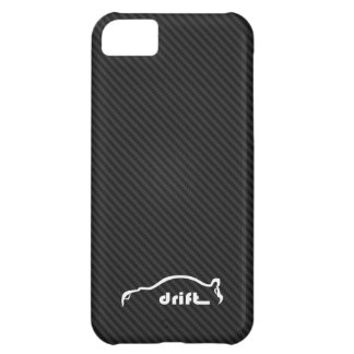 STI Impreza Drift  w/Faux Carbon FIber Background Cover For iPhone 5C