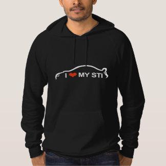 "STI Impreza ""I love my STI"" Sweatshirt"