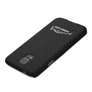 STI Impreza w/Faux Carbon FIber Background Case For Galaxy S5