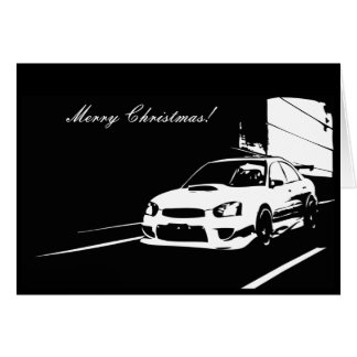 STI Rolling shot Christmas Cards