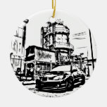 "STI ""the streets"" Christmas Ornaments"