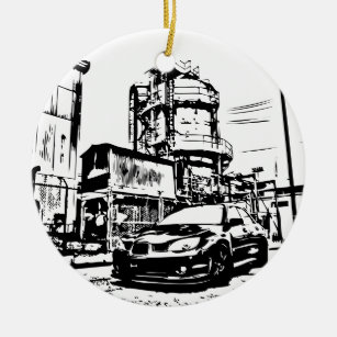 subaru ornaments keepsake ornaments zazzle 05 STI Gauge Pod sti the streets christmas ornaments