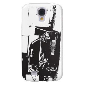 Sti WRX Impreza iPhone 4G case with Silhouette Galaxy S4 Case