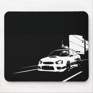 STI WRX Impreza Rolling Shot Mouse Pad