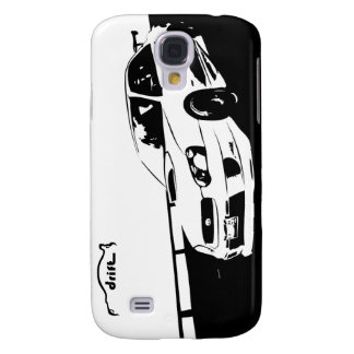 STI WRX Rolling Shot with Drift Logo Samsung S4 Case