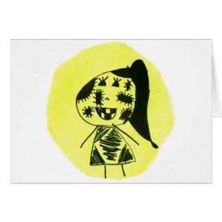 Stich Girl Card