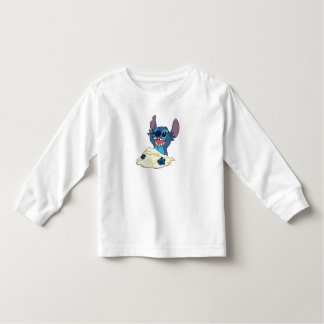 Stich Playing in Sand Disney T Shirt