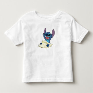 Stich Playing in Sand Disney Toddler T-shirt