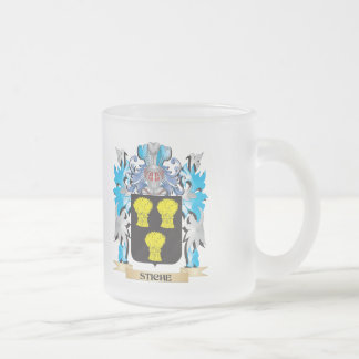 Stiche Coat of Arms - Family Crest 10 Oz Frosted Glass Coffee Mug